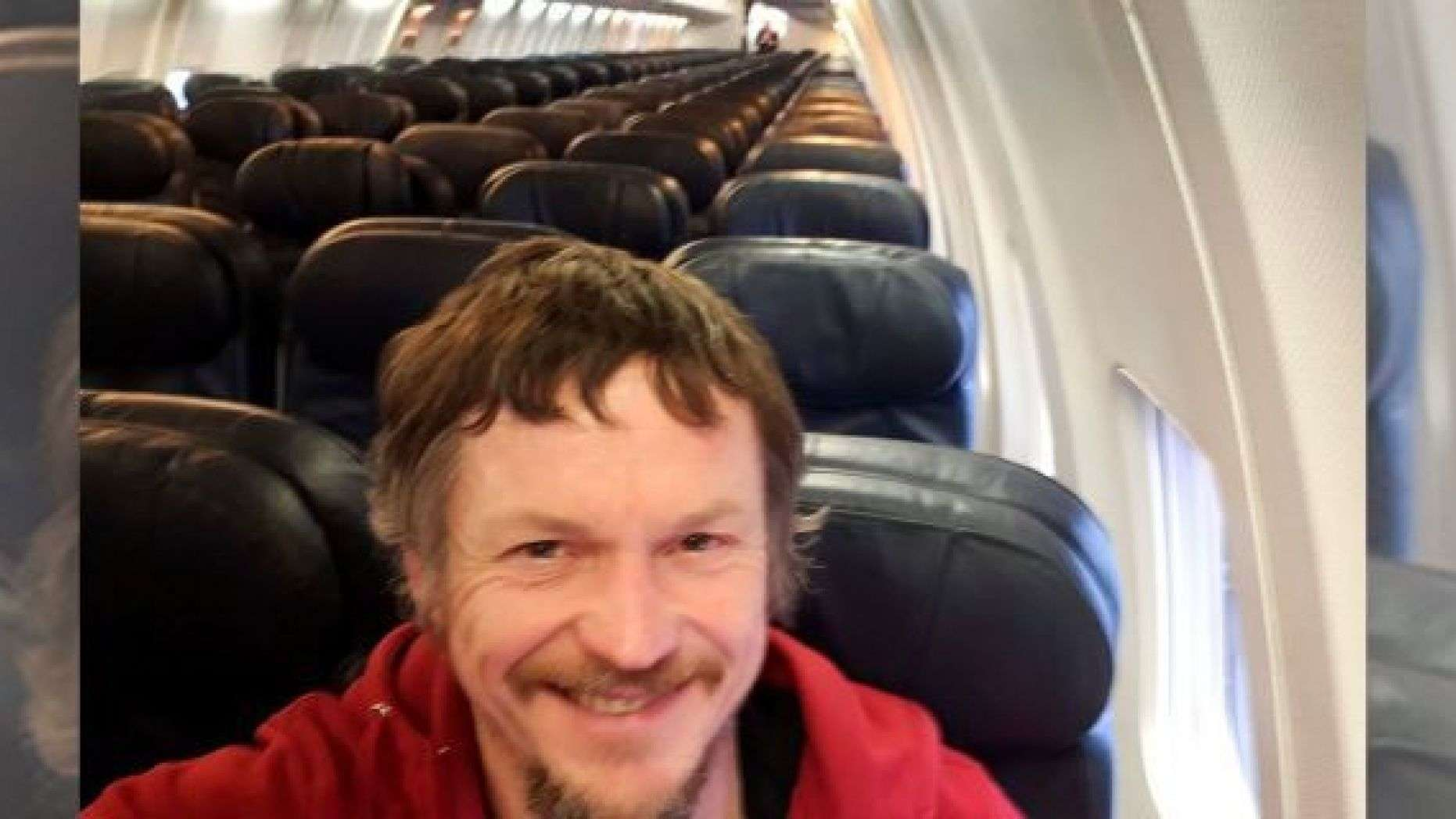 Lithuanian man gets uncommon experience of flying alone on commercial flight to Italy