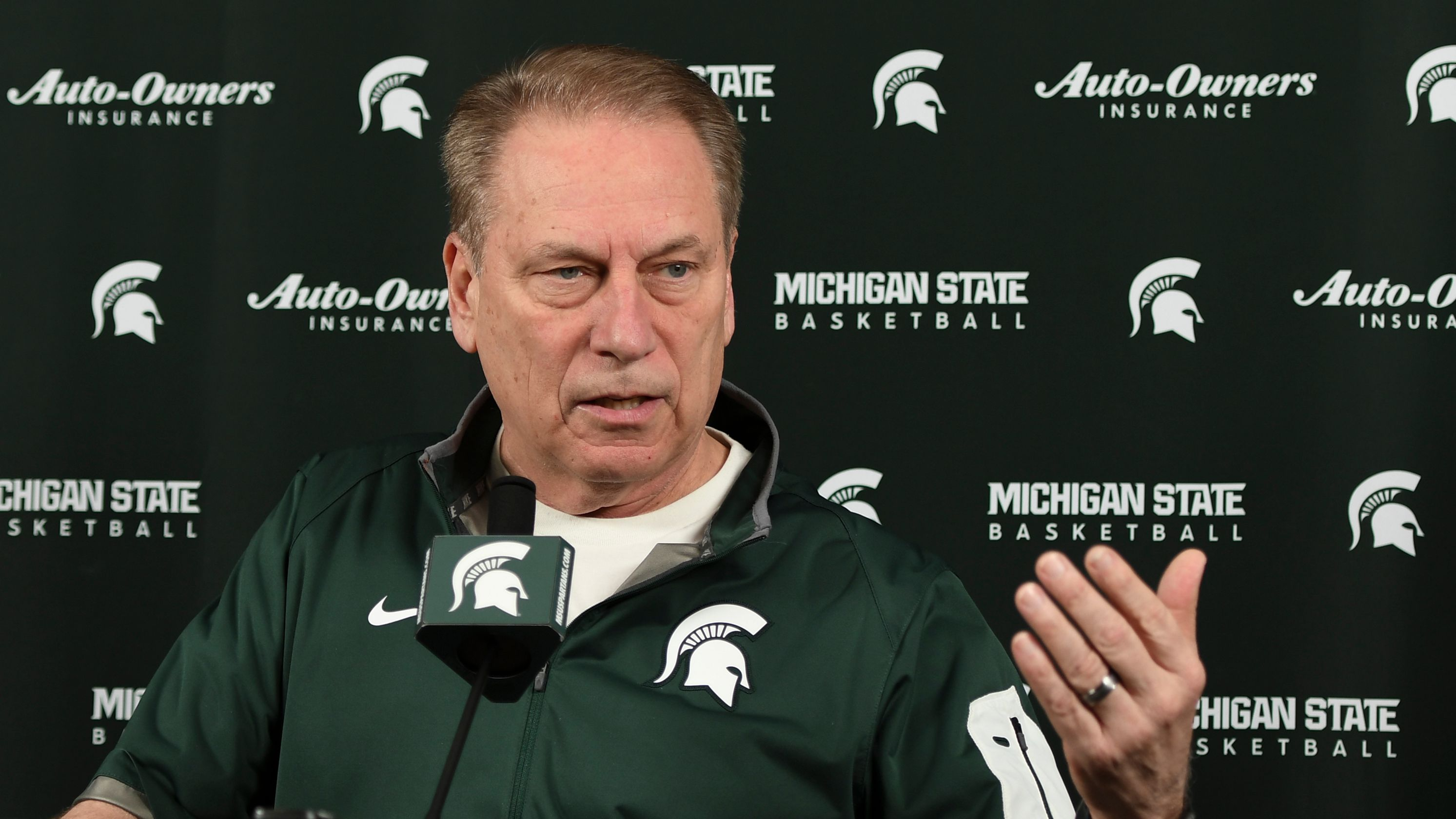 Tom Izzo said that he needs to win a national championship this year to make the career 'validate' at Michigan State