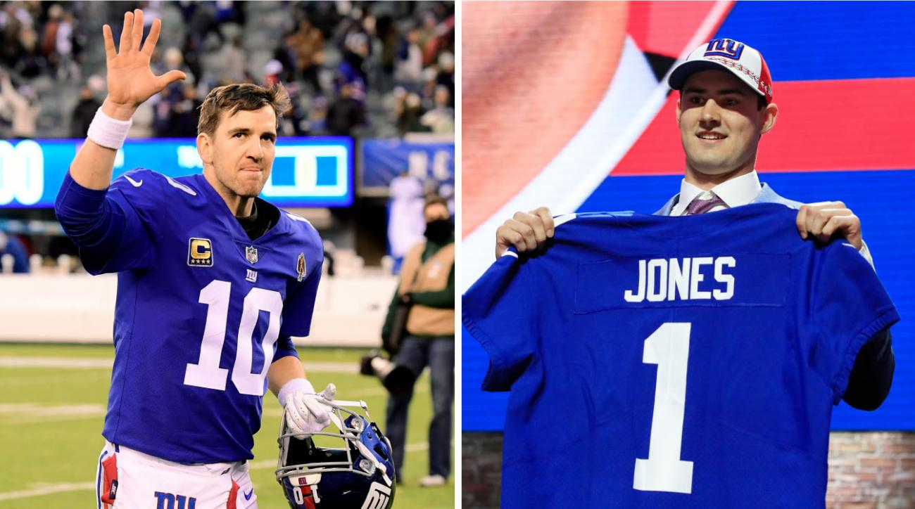Group Could Pursue 'Green Bay Model,' Sit Daniel Jones for Three Years, Giants GM Says