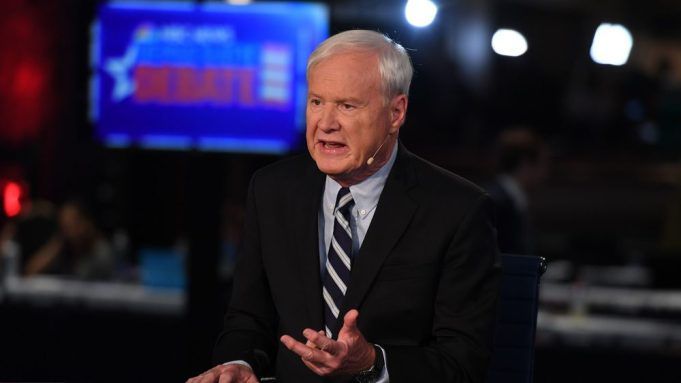 MSNBC's Chris Matthews thinks about Sanders' success to Nazi attack of France