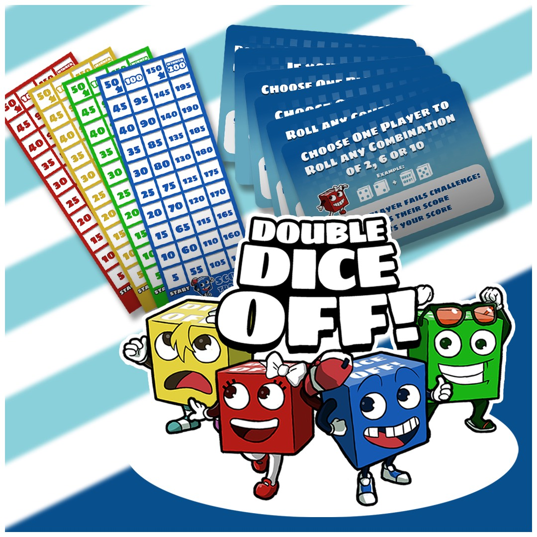 Father & Son Duo Creates Best New Dice Game?