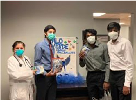 Three High School Students Help Cancer Patients Combat COVID-19 with  Grassroots Mask with a Message Campaign