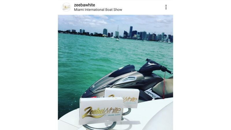 Zeeba White – The right tool to build a great impression