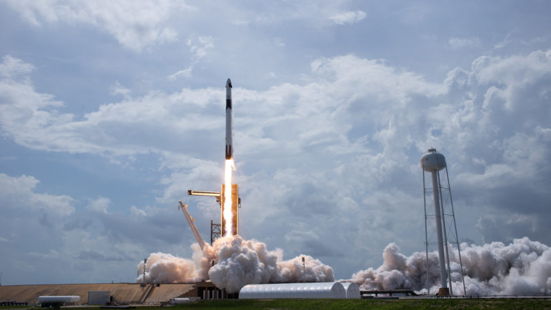 SpaceX successfully launches humans into orbit