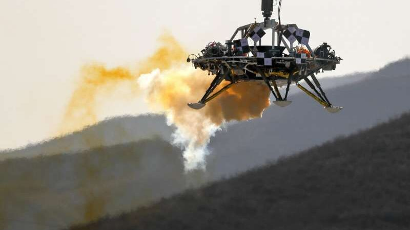 China moves rocket into space for upcoming 'Mars mission'