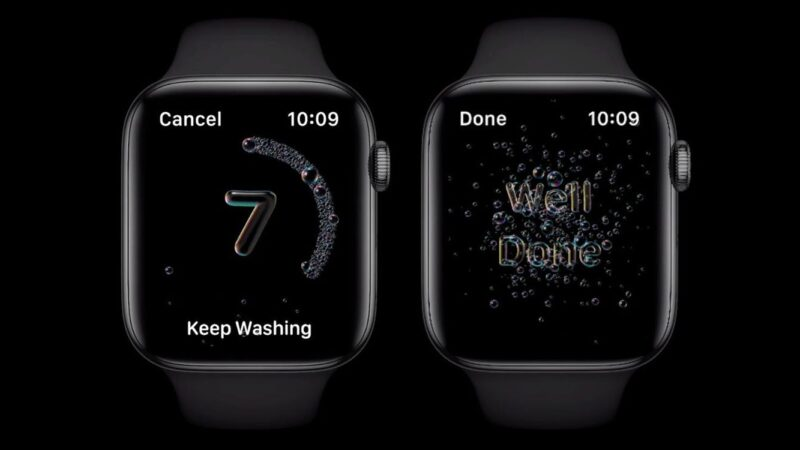 """The most effective method to utilize the new Apple Watch """"Handwashing feature"""""""