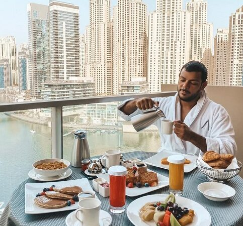 Mohammad Nasser gives an insight into his royal lifestyle and shares a beautiful life mantra