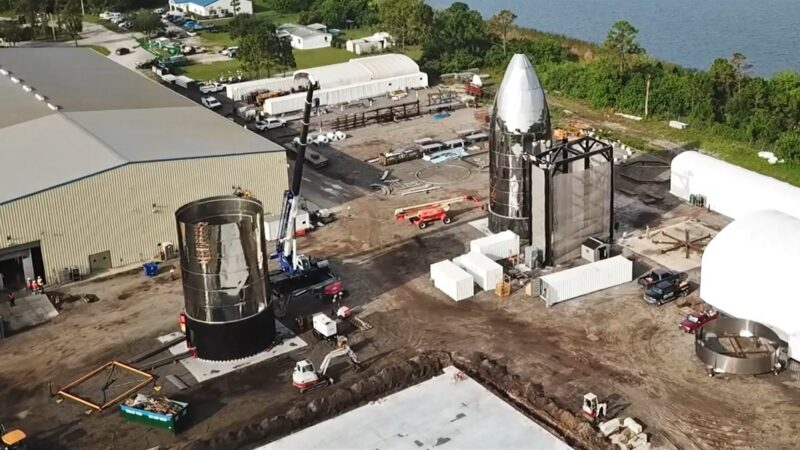 SpaceX scrapped the Florida Starship MK2 sample