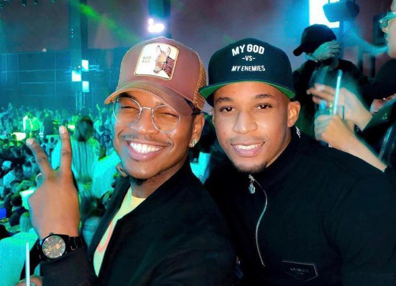 Ahmed Khalfan Yasin – spotted with the International R&B singer NE-YO