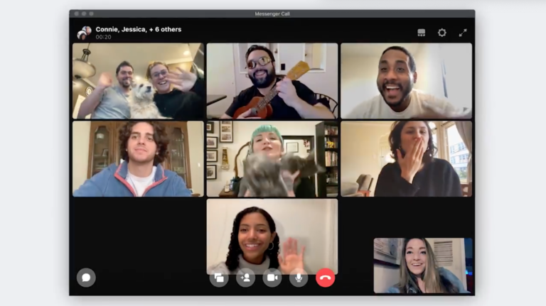 For large meetings- Facebook takes on Zoom with live video broadcasting