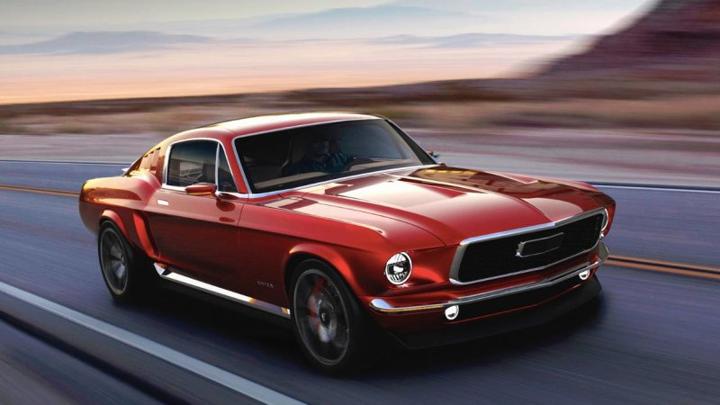 Aviar R67 With 840 HP Is a Russian Tesla-based 'Ford Mustang'