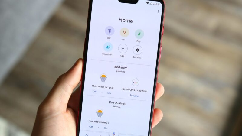 Step by step instructions to use the new Google home application features