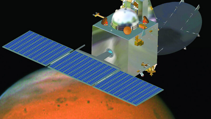 The Mars mission completed the first course corrections for the Red Planet journey