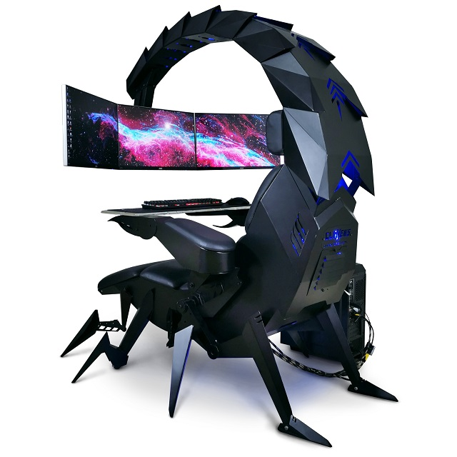 For working from home the Motorized scorpion computer chair is perfect