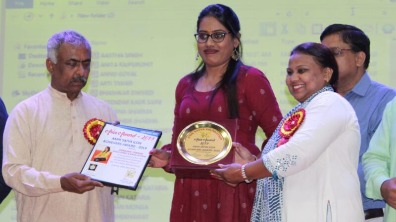 Meet social activist of Gujarat -jignasha thakor she recently got asia award for child education and women empowerment