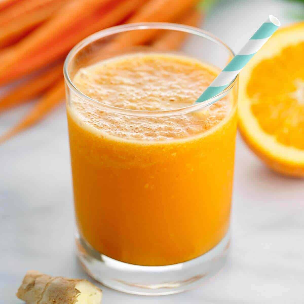 To boost immunity and weight Loss: Drink this orange and turmeric smoothie