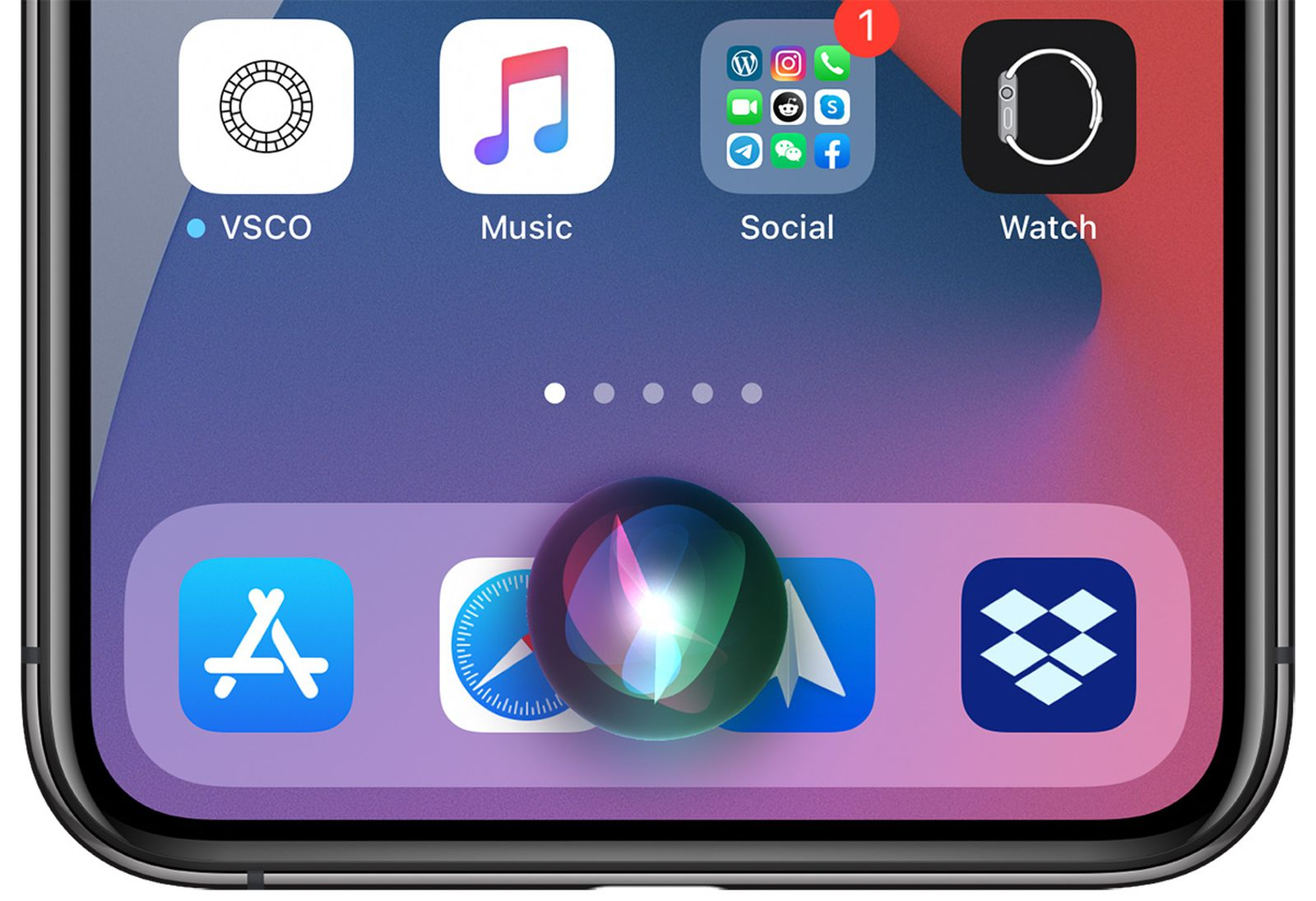 In iOS 14, how to use the new compact Siri
