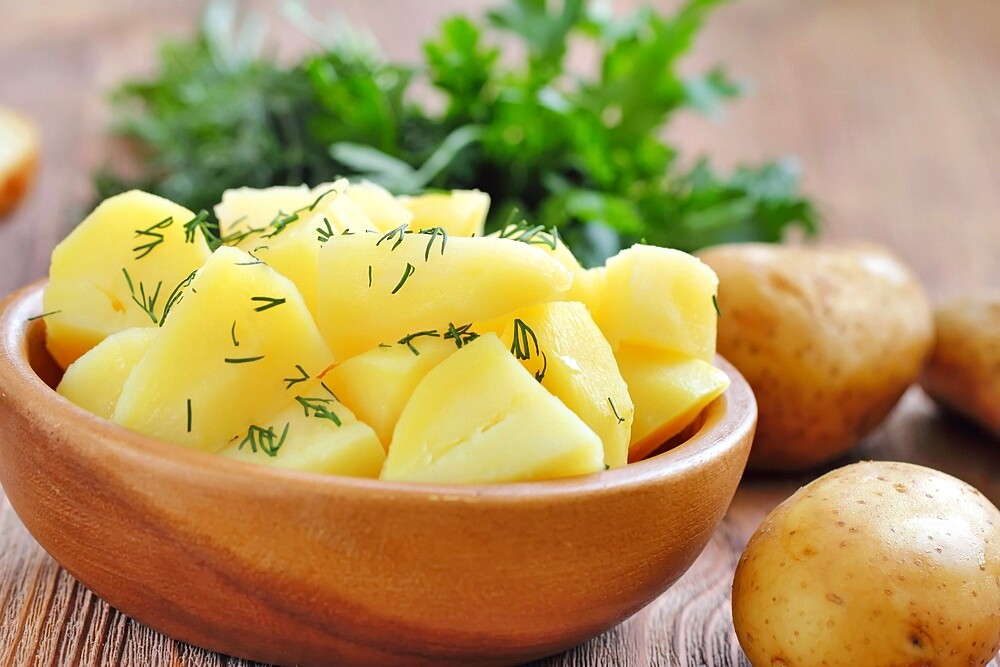 Would 'potatoes' be able to important for a healthy diet
