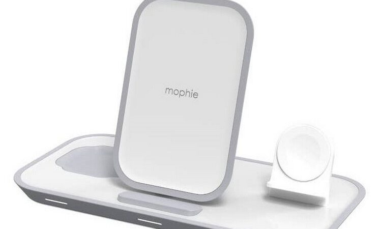 Mophie presented the modular wireless charging module