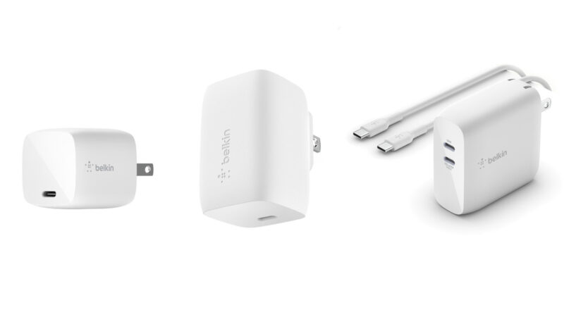 "Belkin: Debuts ""Compact Boost Charge Pro"" 60W GaN USB-C Power Adapter"