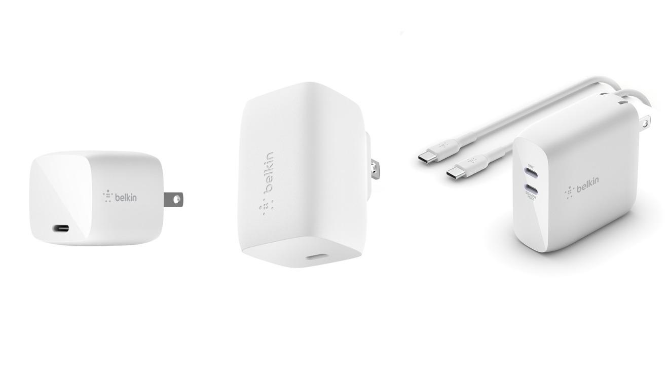 "Belkin: Debuts ""Compact Boost Charge Pro"" 60W GaN USB-C Power Adapter"