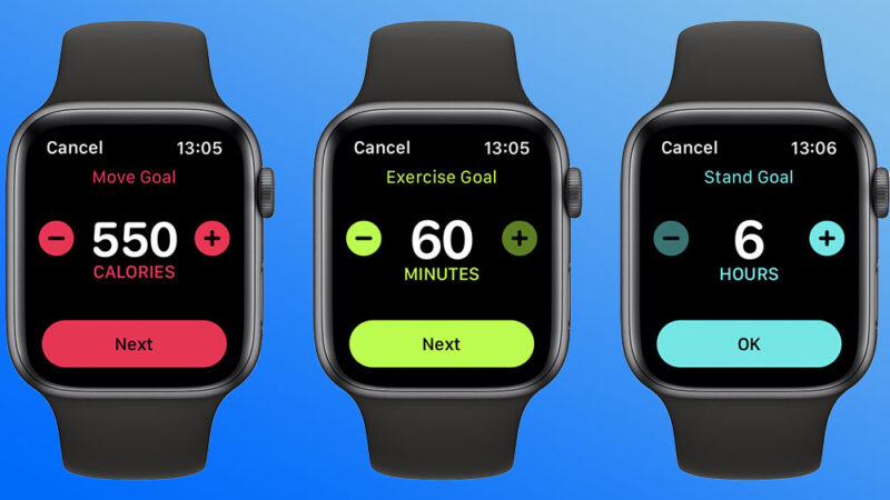 In WatchOS 7, you would now be able to change all your ring goals