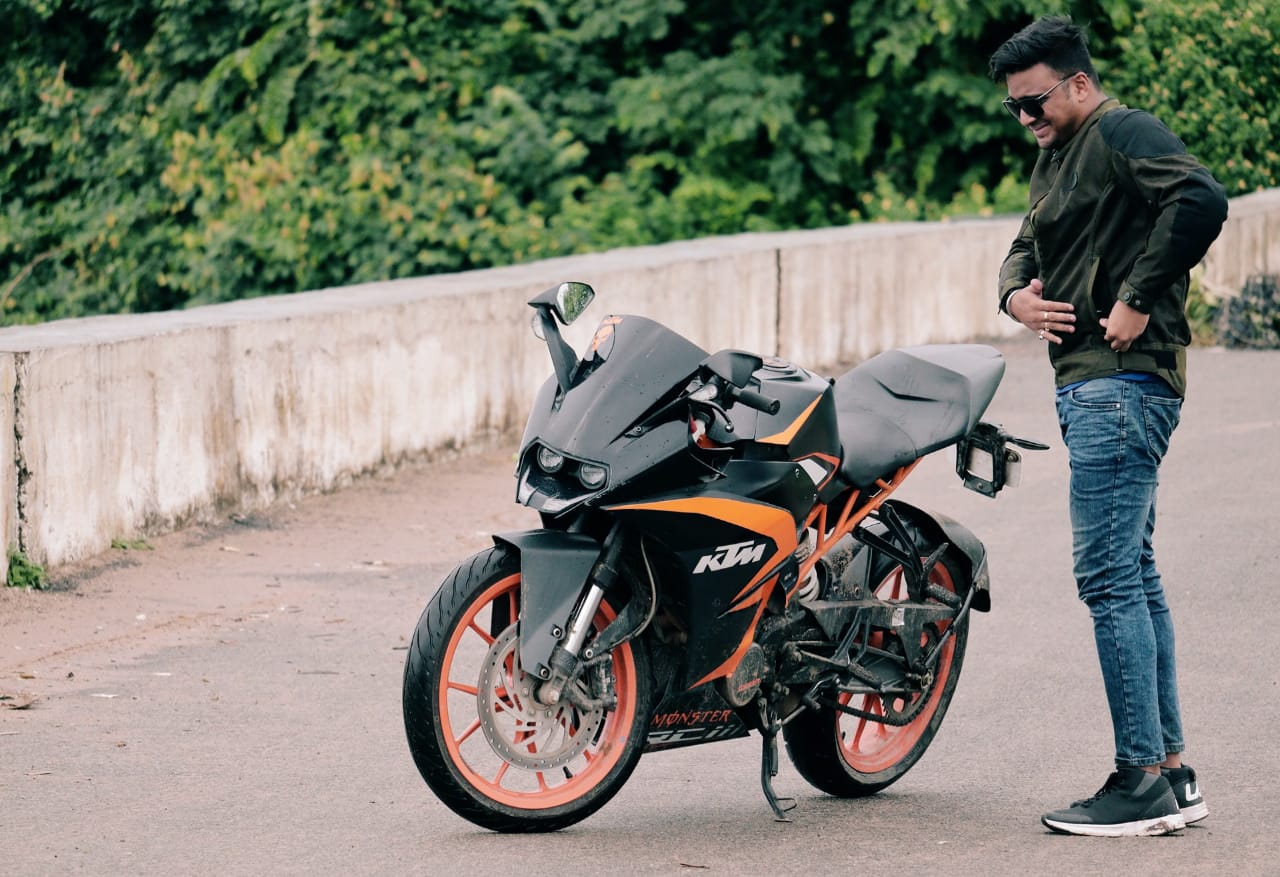 Aswini Pati – Juggling his time between multiple jobs he surely finds time for his passion – Motorbikes.