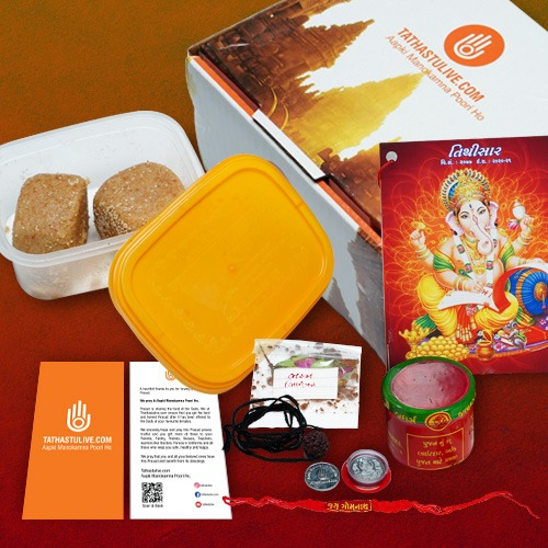 Tathastulive.com offers Mataji Prasad at home this Navratri