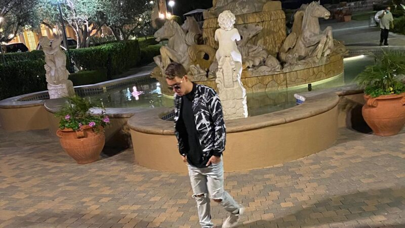 Truitt Battin seen enjoying night out in California