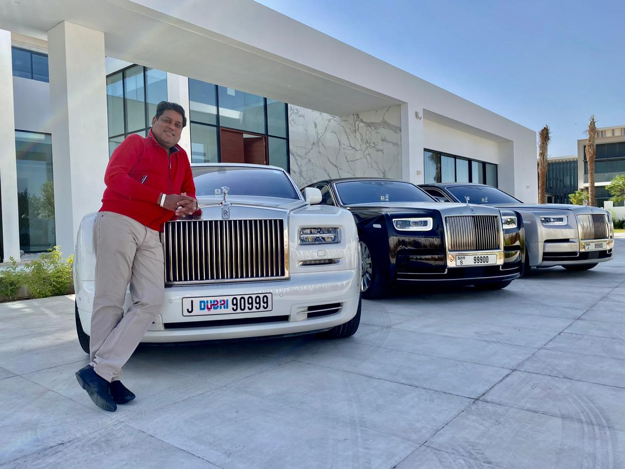 Vikas Malu an Influential Business Tycoon, Adding Six Alluring and Luxurious Rolls  Royce at once to his Legacy