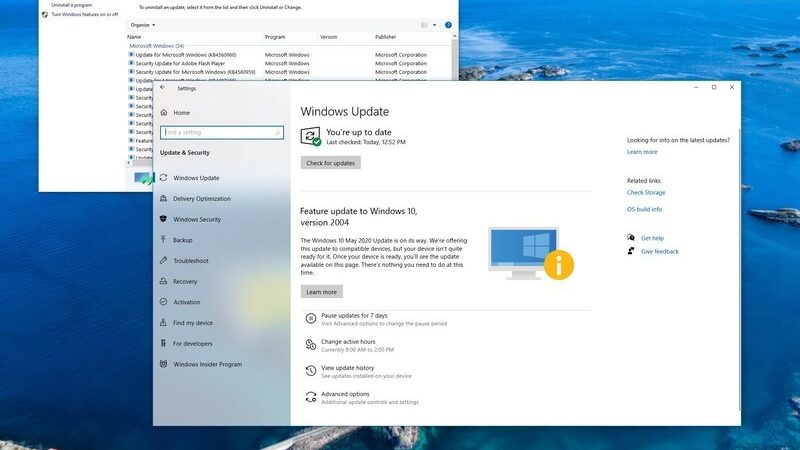 Control 'Windows 10 feature updates' utilizing these settings