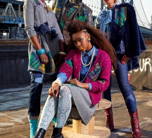 NYFW Collaboration Influencer Olga Ferrara and Fashion Brand JUS10H