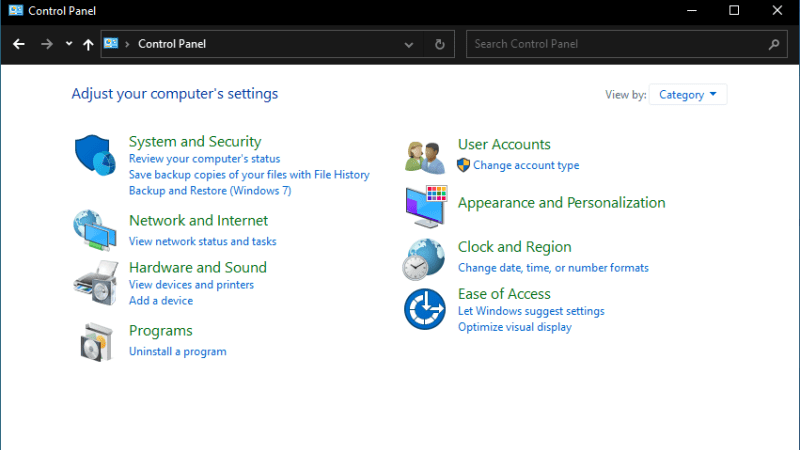 Microsoft is starting to replace the Control Panel with Windows 10's Settings application