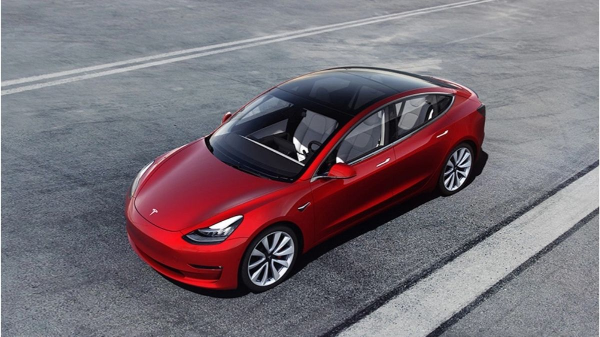 New Tesla Model 3 Long Range Paper List Updated Battery size of 82 kWh
