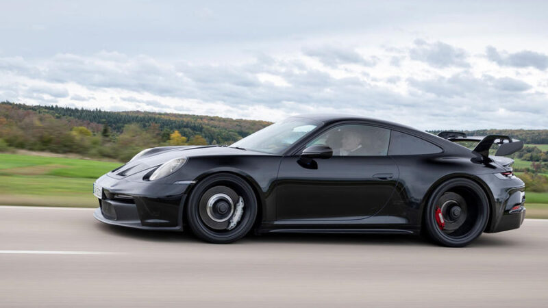 Here's your first look at: New 992-gen Porsche 911 GT3