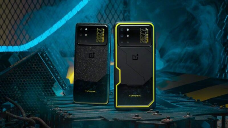 OnePlus 8T Cyberpunk 2077 Edition- has recently launched with a striking design