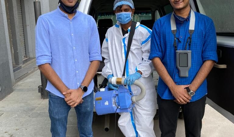 Ahmedabad based startup introduces technological solution to fight Covid-19 effectively