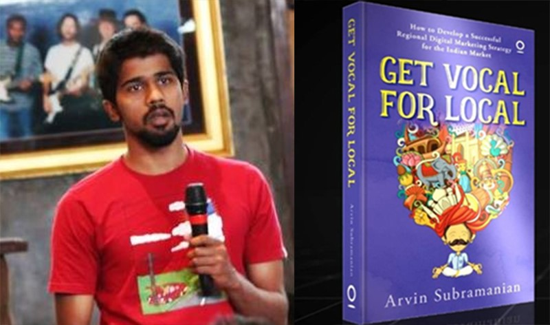 Regional Users Binge Watch to Escape from Reality: Arvin Subramanian, Author – Get Vocal for Local