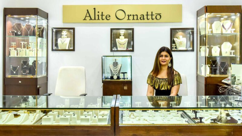 Diamond and Bridal Polki Exhibition organized by Niti Mehta founder of Alite Ornatto