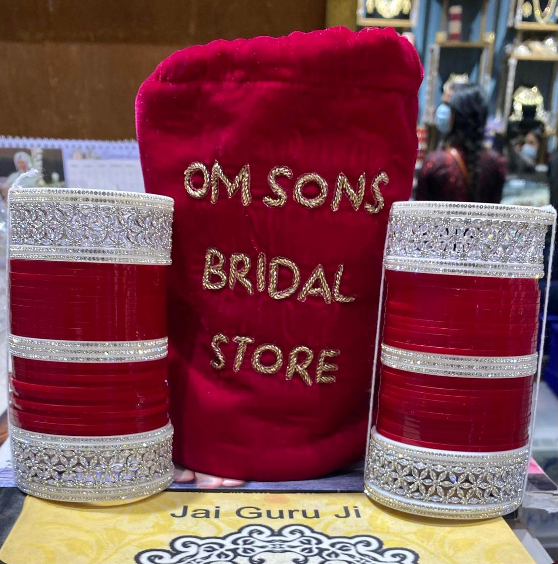 Om Sons Bridal Store: Racing ahead others in the bridal jewelry and accessories market thriving on their creative designs and innovativeness.