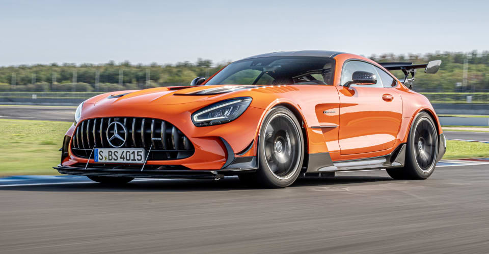 AMG GT Black Series is the fastest producing car
