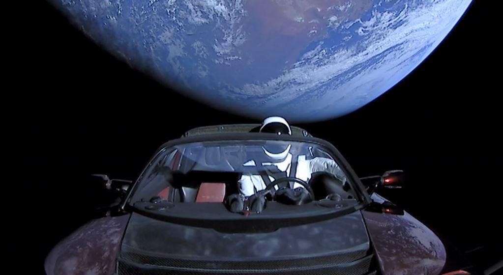 Tesla's Starman finally arrives at Mars