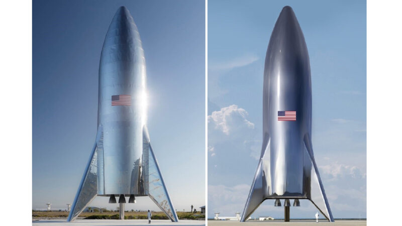 Elon Musk shares epic photograph of Starship spacecraft before arranged test flight