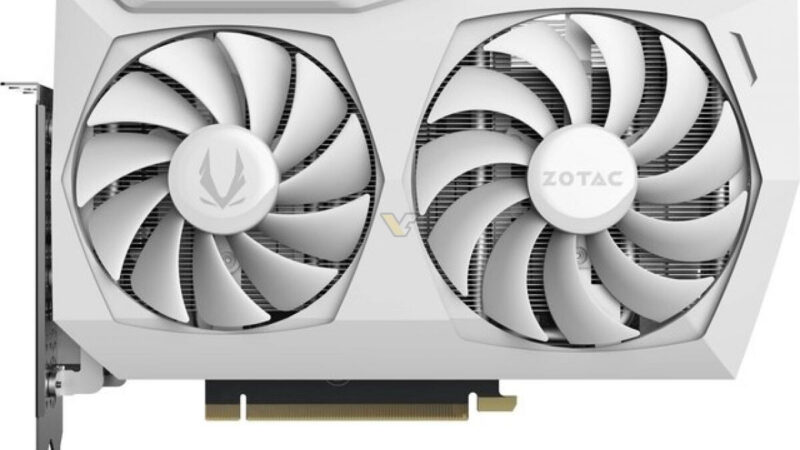 ZOTAC declared the GeForce RTX 3070 Twin Edge OC White Edition