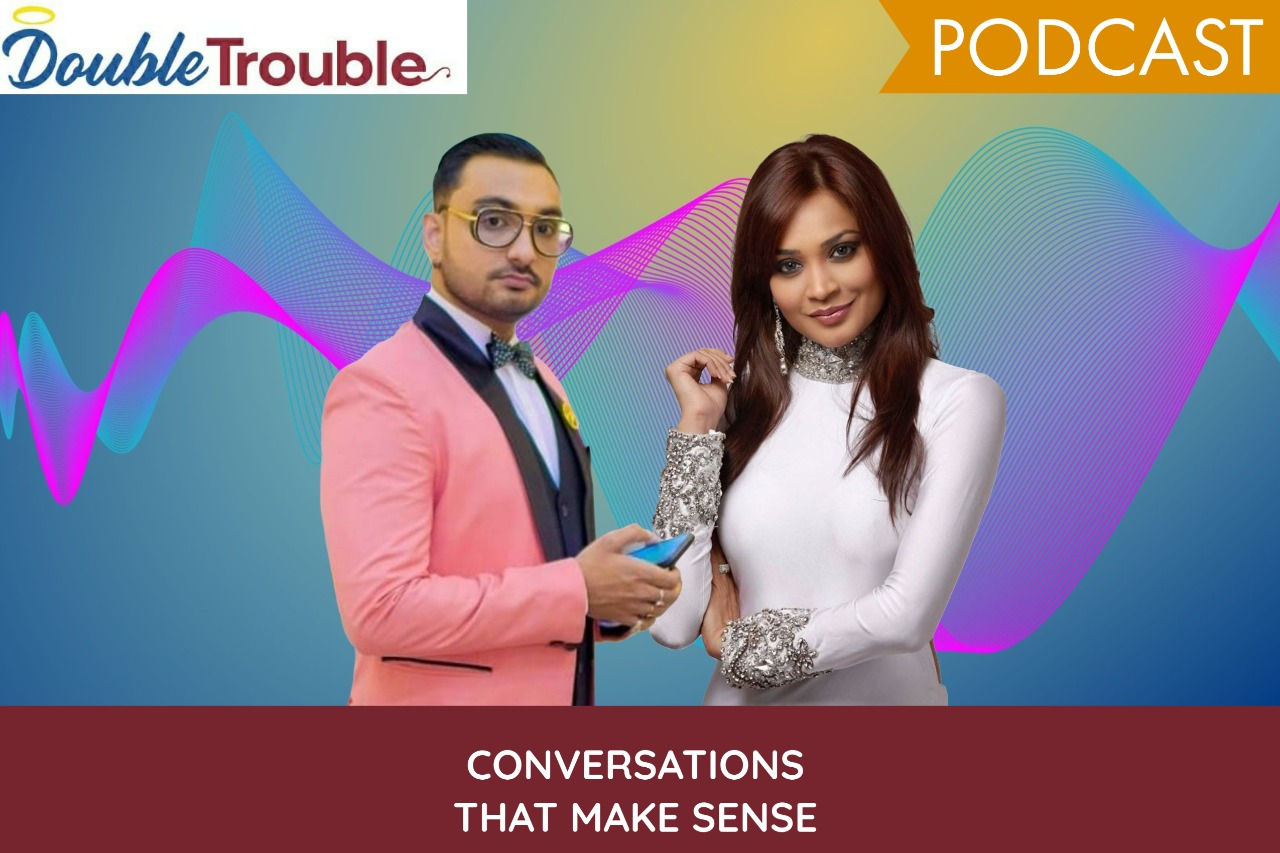 Entrepreneur and Rapper, Raja Mukherjee and Master of ceremonies Sangeeta Singh host Double Trouble a show for the youth