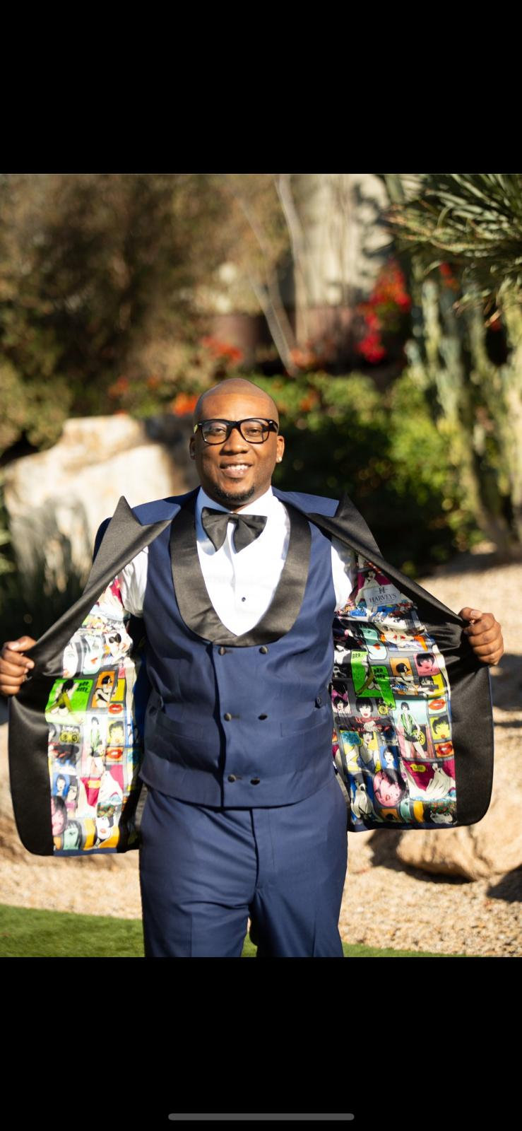 Guy who casts his magic on suits, Roderick Harvey is here to share his journey