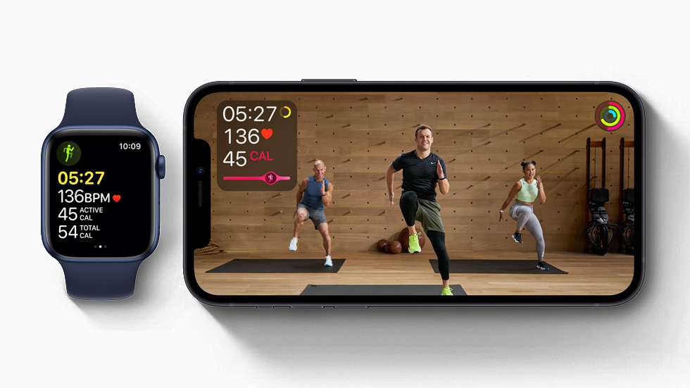 Fitness + workout service from December 14 for Apple Watch