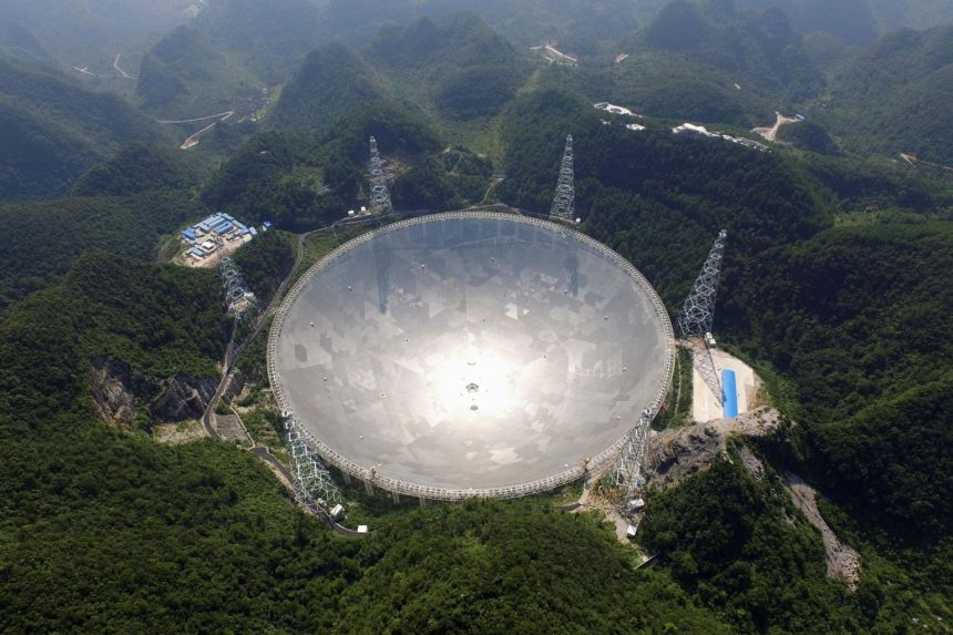 China is opening the world's biggest radio telescope up to international researchers