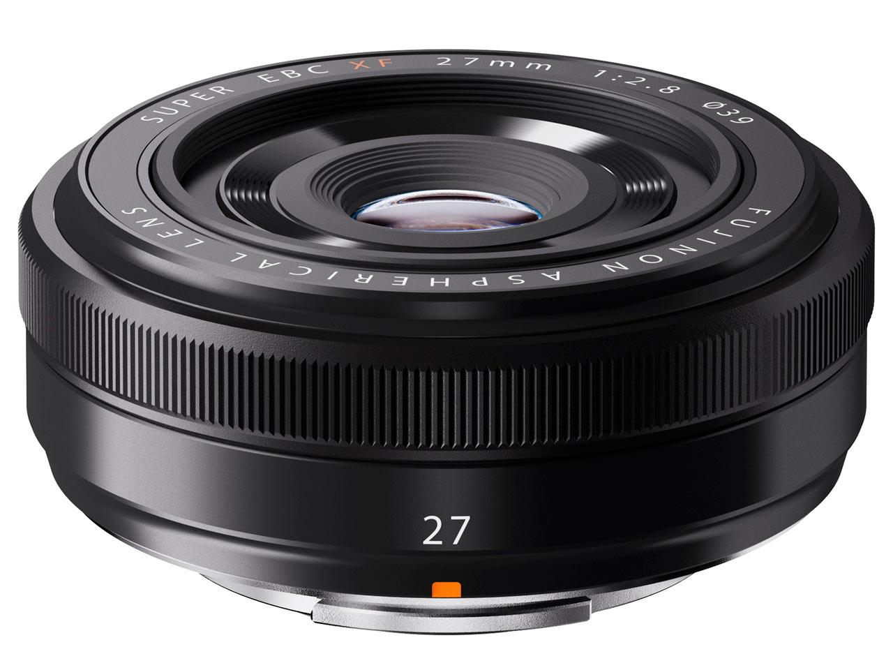 Fujifilm announced the XF 27mm f/2.8 pancake lens