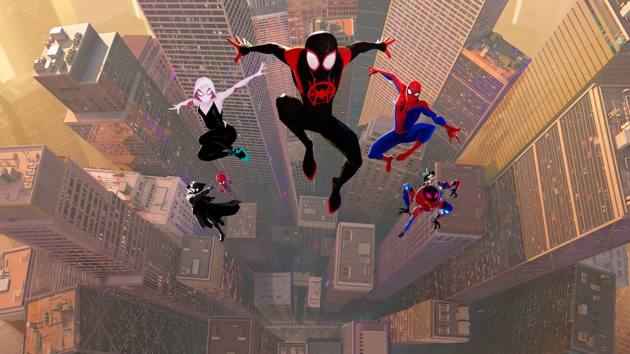 "Netflix selects an animated film ""Into The Spider-Verse"" from producers"